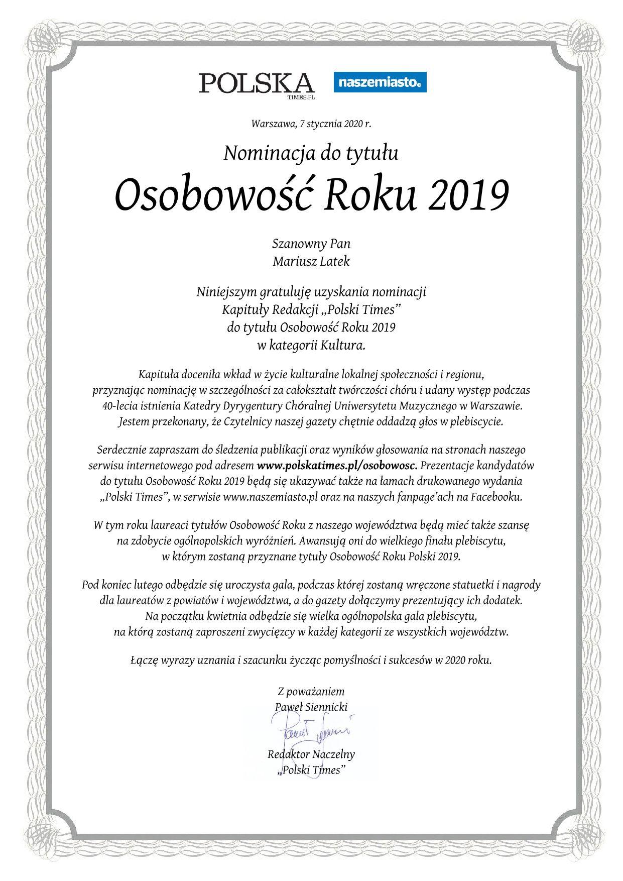 Nominacja_Mariusz_Latek